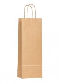 Крафт пакет 35х12х8 см                    под бутылку